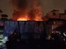 Cháy lớn tại nhà kho của Tổng cục Hậu cần-Kỹ thuật