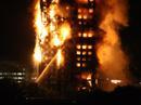 Đám cháy kinh hoàng nuốt chửng tòa nhà 27 tầng ở London