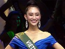 Hà Thu dừng chân tốp 16 Hoa hậu Trái đất 2017