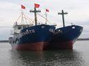 Hạ thủy 2 tàu vỏ thép hơn 32 tỉ đồng