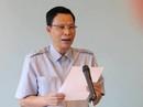 Ông Nguyễn Minh Mẫn từ chối trả lời nhiều câu hỏi trong họp báo