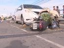 Ô tô lấn trái, gây tai nạn kinh hoàng