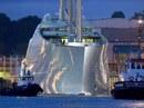 Chiêm ngưỡng siêu du thuyền 450 triệu USD của tỉ phú Nga