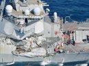 Mỹ cách chức ban chỉ huy chiến hạm va chạm tàu hàng Philippines
