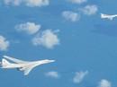 Ba nước xuất kích chiến đấu cơ chặn máy bay ném bom Nga