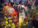 Bến hoa cổ nhất Sài Gòn nhộn nhịp trong đêm