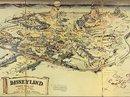 Bản đồ đầu tiên của Disneyland bán giá khủng