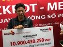 Không đeo mặt nạ nhận giải Jackpot hơn 10,9 tỉ đồng