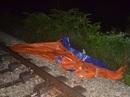 Người đàn ông bị tàu hỏa tông chết trong đêm