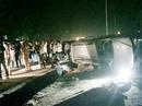 Cảnh sát nổ súng bắn thủng lốp Fortuner chở 100 bánh heroin