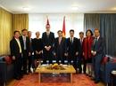 Phó Thủ tướng Vương Đình Huệ gặp nhiều tập đoàn Thụy Sỹ