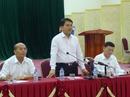 Chủ tịch Nguyễn Đức Chung cam kết không có hành động ở Đồng Tâm