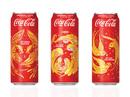 Coca-Cola tung 3 mẫu bao bì độc đáo chào đón tết 2018