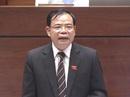 Bộ trưởng Nông nghiệp Nguyễn Xuân Cường trả lời chất vấn
