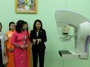 Thêm cơ hội phát hiện ung thư vú cho giới nữ
