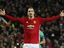 M.U thắng tưng bừng nhờ hat-trick của Ibrahimovic