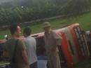 Hãng xe buýt 3 ngày liền có xe lao xuống ruộng làm khách kinh sợ
