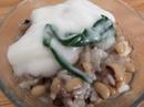 Chè đậu trắng nấu bằng nồi cơm điện đơn giản mà ngon