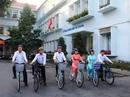 Cán bộ sở GTVT phải đi xe đạp trong cự ly ngắn