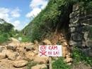 Di sản thế giới Thành nhà Hồ bị sạt lở tường thành