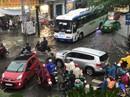 Triều cường tấn công vào trung tâm TP HCM