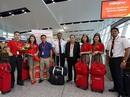 Vietjet chào mừng chuyến bay đầu tiên Hà Nội - Siem Reap