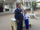 Bé đạt giải nhất IOE cấp huyện khi trường chưa dạy tiếng Anh
