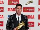 """Messi lần thứ 4 đoạt """"Chiếc giày vàng châu Âu"""""""