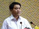 Chủ tịch Hà Nội Nguyễn Đức Chung phát biểu với người dân Đồng Tâm