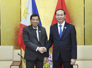 Chủ tịch nước gặp Tổng thống Philippines