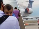 Mỹ: Máy bay cháy động cơ khi vừa hạ cánh