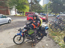 Chàng trai Việt đi xe máy đến Paris tiết lộ tổng kinh phí