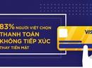 83% người Việt chọn thanh toán không tiếp xúc thay tiền mặt