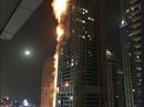 Cháy lớn nhấn chìm 40 tầng của tòa tháp Dubai trong biển lửa