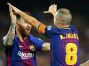Trọng tài tặng 3 điểm, Barcelona tăng tốc dẫn đầu