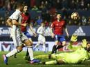 Thắng đậm Osasuna, Real Madrid giữ ngôi số 1 La Liga