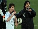 """Maradona """"bỏ nhỏ"""" sếp FIFA, giúp Messi kháng án"""