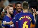 """""""Siêu nhân"""" Messi đánh poker, Barcelona thắng đậm Eibar"""
