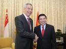 Lãnh đạo TP HCM tiếp thủ tướng Singapore