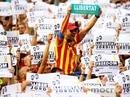 450.000 người xuống đường ở Catalonia sau đòn mạnh từ Tây Ban Nha