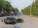 Phóng xe máy tốc độ cao, đôi nam nữ tử vong sau va chạm