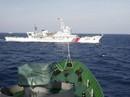 Phản đối tàu Hải cảnh Trung Quốc truy đuổi tàu cá Việt Nam