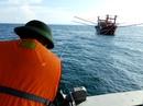 Tàu hỏng máy, 9 ngư dân lênh đênh nhiều giờ trên biển