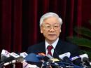 Tổng Bí thư phát biểu bế mạc Hội nghị Trung ương 6