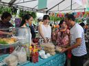62 gian hàng tham gia liên hoan văn hóa ẩm thực