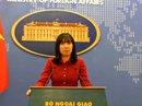 Việt Nam lên tiếng việc tàu chiến Mỹ áp sát đá Vành Khăn