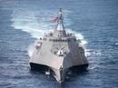 """Tàu chiến """"tàng hình"""" của Hải quân Mỹ bảo dưỡng ở Cam Ranh"""