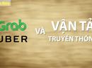 """""""Cuộc chiến"""" Grab, Uber ở Việt Nam"""