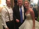 Bất ngờ vì được Tổng thống Donald Trump dự đám cưới