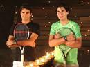 Nadal và Federer tranh hùng trong ánh nến